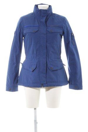 Brunotti Outdoor jack blauw-paars-staalblauw atletische stijl