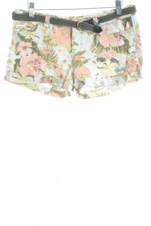 Brunotti Shorts Blumenmuster Logo-Applikation