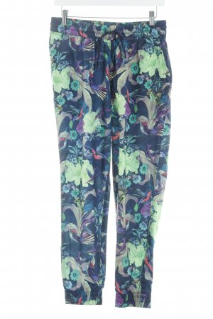 Brunotti Stoffhose florales Muster Casual-Look