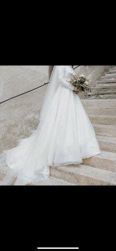 Suknia ślubna biały-w kolorze białej wełny