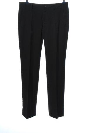Bruuns bazaar Spodnie garniturowe czarny W stylu biznesowym