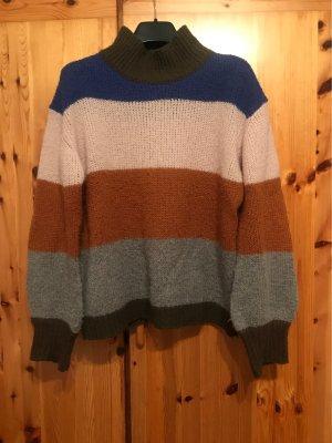 Bruuns bazaar Wełniany sweter Wielokolorowy