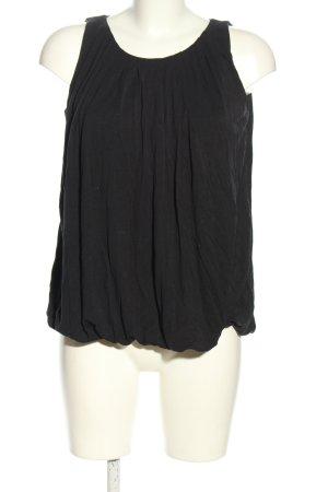 Bruuns bazaar Top koszulowy czarny W stylu casual