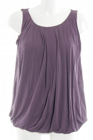 Bruuns bazaar Blouse Top grey lilac casual look