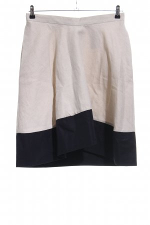 Bruuns bazaar Flared Skirt natural white-black casual look