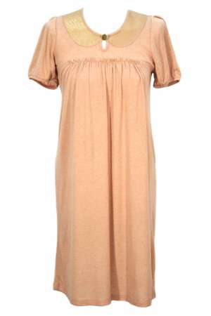 Bruuns bazaar Dress beige mixture fibre