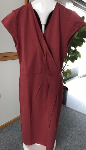 Bruuns bazaar, Kleid, Jerseykleid, burgunderrot, Gr. 44
