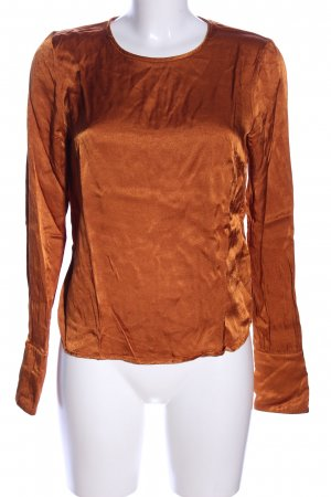 Bruuns bazaar Long Sleeve Blouse light orange business style