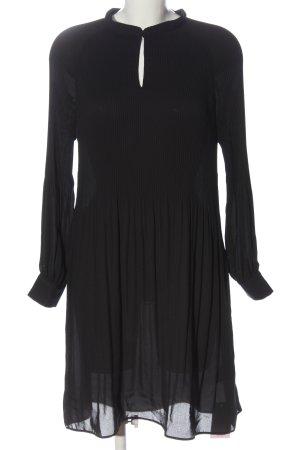 Bruuns bazaar Langarmkleid schwarz Elegant