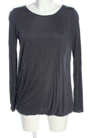Bruuns bazaar Koszulka z długim rękawem jasnoszary W stylu casual