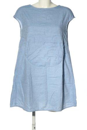 Bruuns bazaar Longtop blau meliert Casual-Look