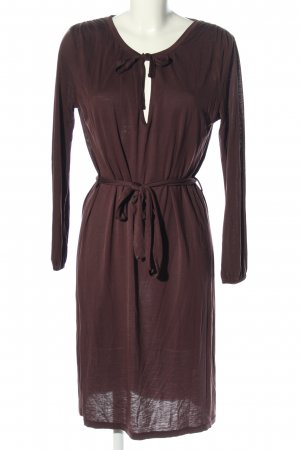 Bruuns bazaar Midi Dress brown casual look