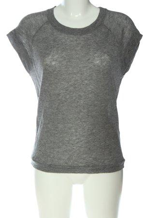 Bruuns bazaar Knitted Jumper light grey casual look