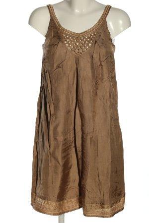 Bruuns bazaar Sukienka na ramiączkach brązowy W stylu casual