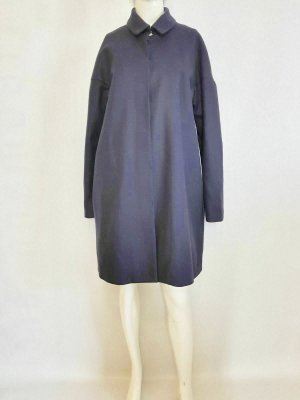 Bruuns bazaar Winter Coat blue wool