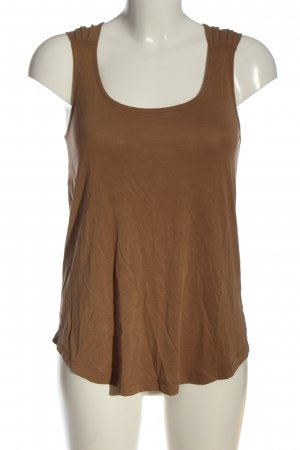 BSB Collection Basic topje bruin casual uitstraling