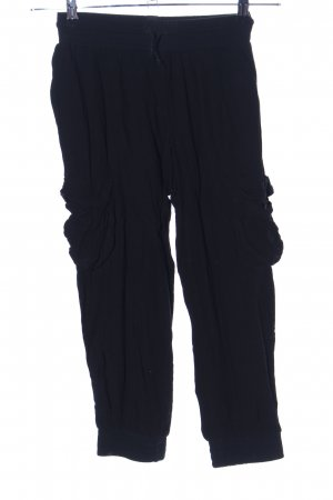 BSB Collection Harem Pants black casual look