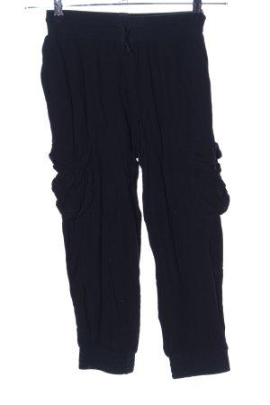 BSB Collection Pantalón estilo Harem negro look casual