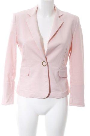 BSB Collection Korte blazer roze zakelijke stijl