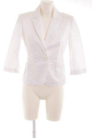 BSB Collection Korte blazer wit casual uitstraling