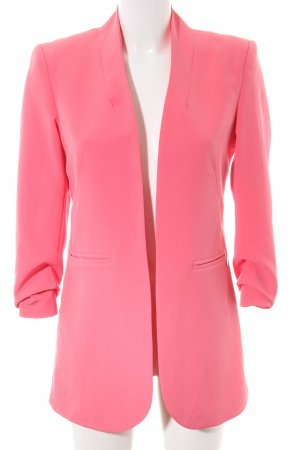BSB Collection Long-Blazer pink Business-Look