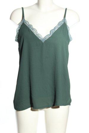 BSB Collection Kanten blouse groen casual uitstraling