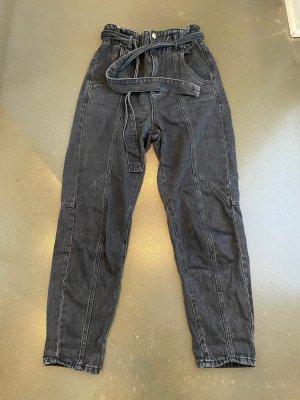 BSB Jeans Jeans taille haute noir