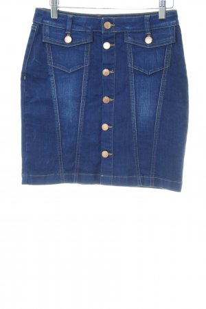 BSB Jeans Jeansrock blau Casual-Look