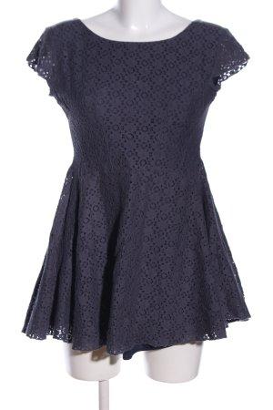 BSB Jeans Lange blouse lichtgrijs zakelijke stijl