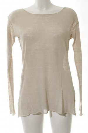 BSB Jeans Longpullover creme Casual-Look