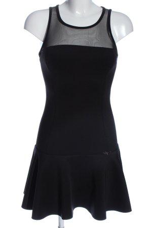 BSB Jeans Mini-jurk zwart prints met een thema casual uitstraling