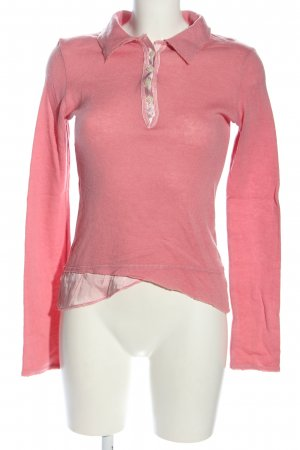 BSB Jeans Manica lunga rosa stile casual