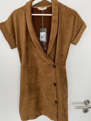 BSB Collection Abito blusa cognac Poliestere