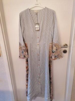 BSB Collection Robe d'été blanc-noir