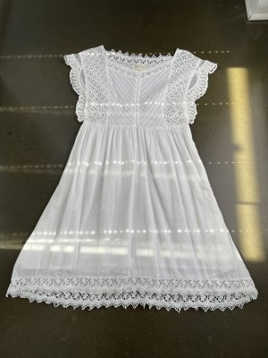 BSB Collection Robe tunique blanc