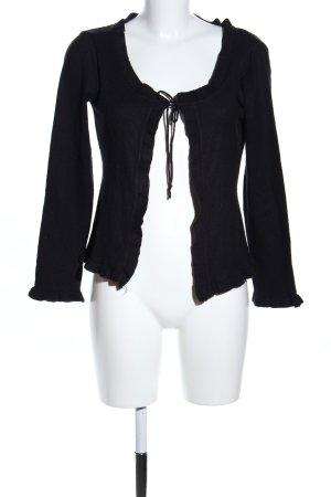 bscs europe Cardigan schwarz Casual-Look