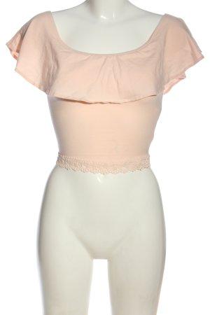 BSK by Bershka Carmen Shirt nude casual look