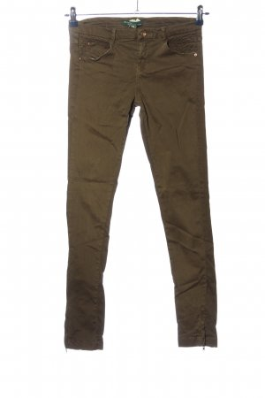 BSK by Bershka Five-Pocket-Hose khaki Casual-Look