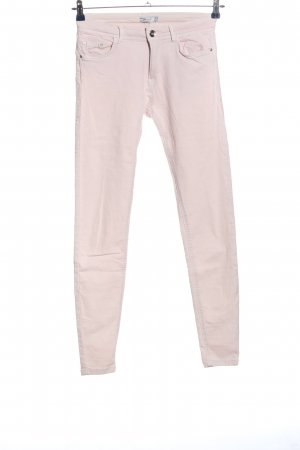 BSK by Bershka High Waist Trousers natural white casual look