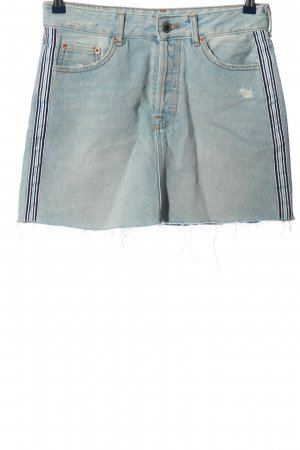 BSK by Bershka Denim Skirt blue casual look