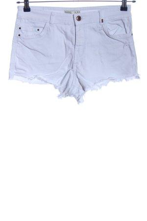 BSK by Bershka Short en jean bleu style décontracté