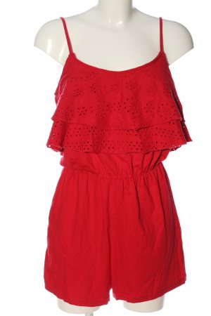 BSK by Bershka Jumpsuit red casual look