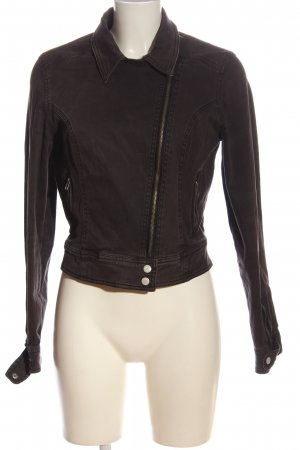 BSK by Bershka Short Jacket brown casual look