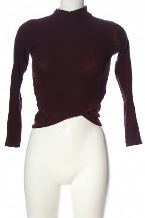 BSK by Bershka Manica lunga rosso stile casual