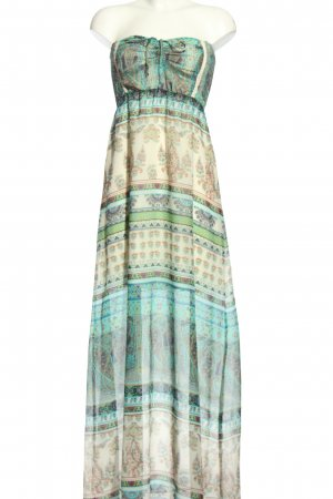 BSK by Bershka Maxi Dress mixed pattern casual look