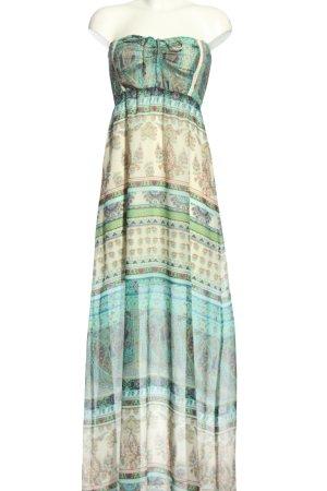 BSK by Bershka Robe longue Mélange de motifs style décontracté