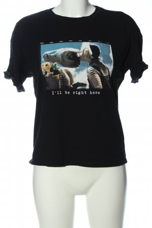 BSK by Bershka Koszulka z nadrukiem Nadruk z motywem W stylu casual