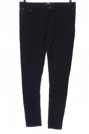 BSK by Bershka Drainpipe Trousers black casual look