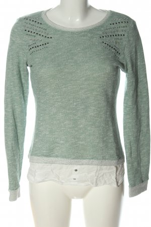 BSK by Bershka Crewneck Sweater flecked casual look