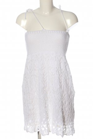 BSK by Bershka Lace Dress white casual look